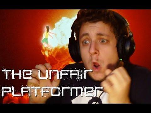 F*SZOM, NE SZOPASSÁL MÁR ITT AZ ELEJÉN! | The Unfair Platformer Rage gameplay