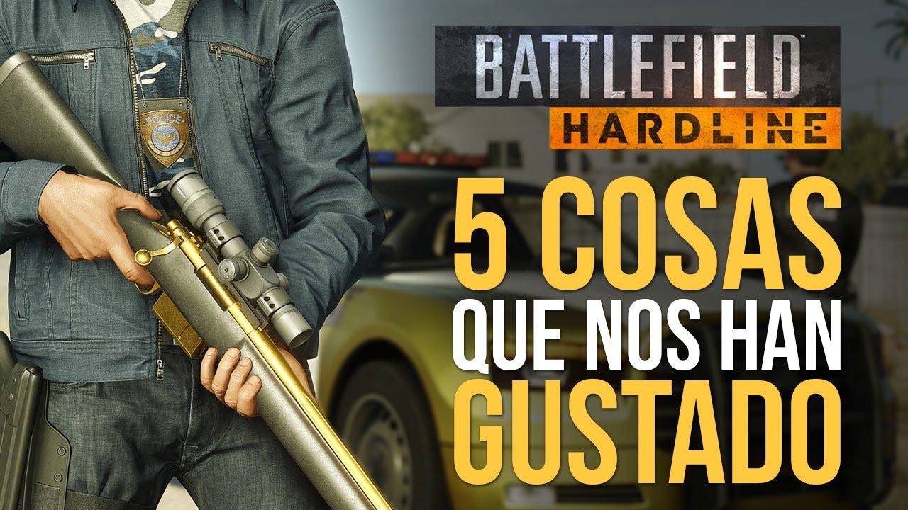 BATTLEFIELD HARDLINE: 5 cosas que NOS HAN GUSTADO