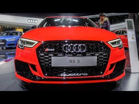2017 Audi RS3 SEDAN - 2017 Geneva Motor Show