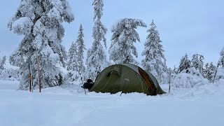 Winter Camping In Norway
