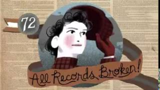 Google Nellie Bly Home Page Animation