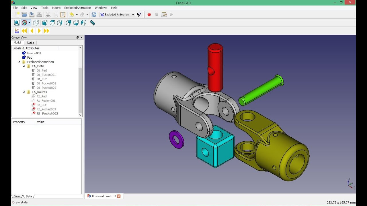 how to make a 3d object in freecad