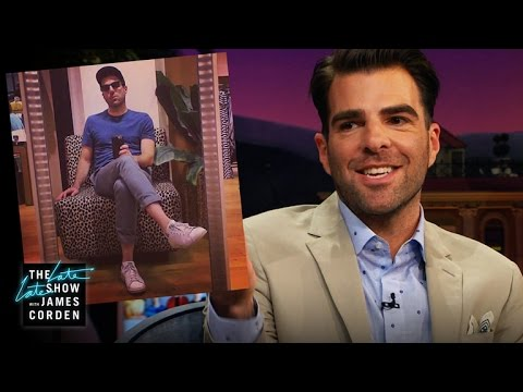 Zachary Quinto's Epic Chico's Selfie Story