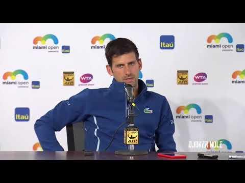 """Novak Djokovic """"It is what it is. Life goes on !"""" - Miami Open 2018 (HD)"""