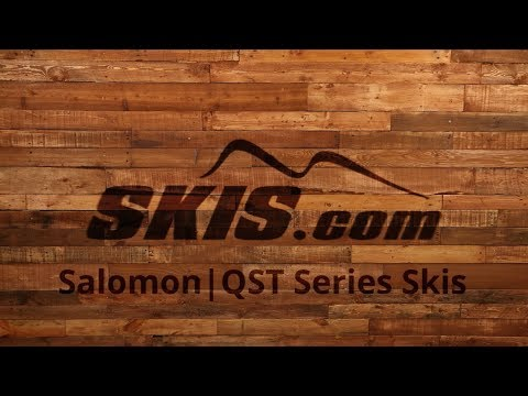 2018 Salomon QST Mens and Womens Ski Series Overview by SkisDotCom