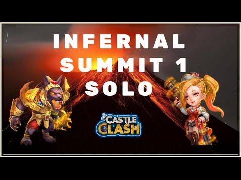 INFERNAL SUMMIT 1 - SOLO - CASTLE CLASH