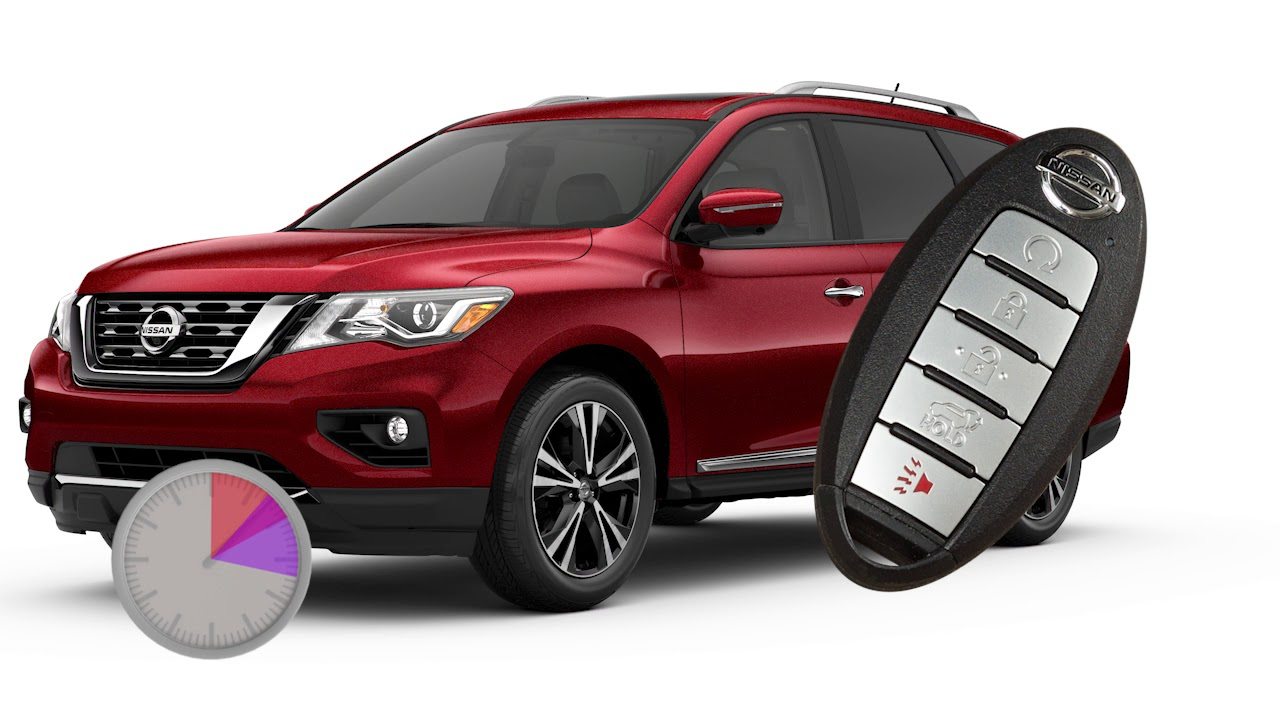 2019 Nissan Pathfinder Remote Engine Start If So Equipped