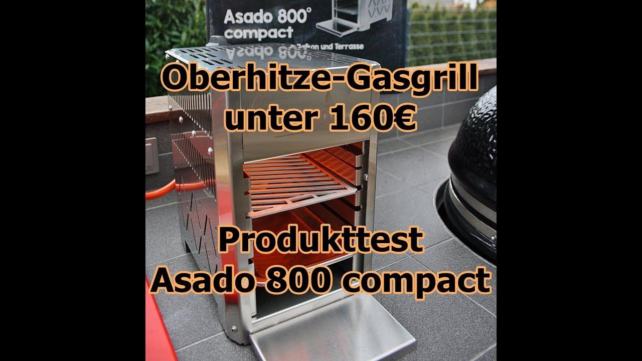Aldi Gasgrill Oberhitze : Oberhitze gasgrill unter 160u20ac produkttest asado 800 compact