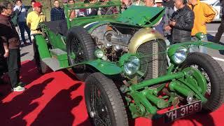 驚愕!今でも動く1928年ル・マンで優勝したベントレーのエンジン始動の瞬間