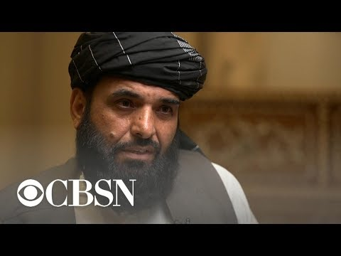 Taliban negotiator speaks with CBS News about peace talks