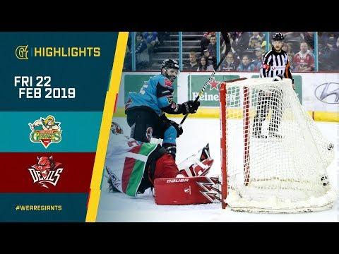 HIGHLIGHTS: Stena Line Belfast Giants vs Cardiff Devils