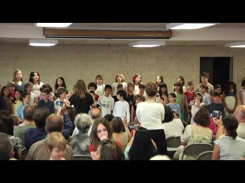 Love of Learning Montessori School 2009 Elementary Students Sing