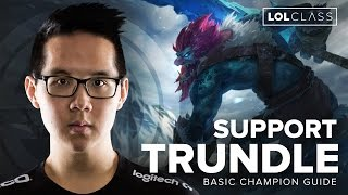TSM Yellowstar Trundle Support Preseason Guide | League of Legends