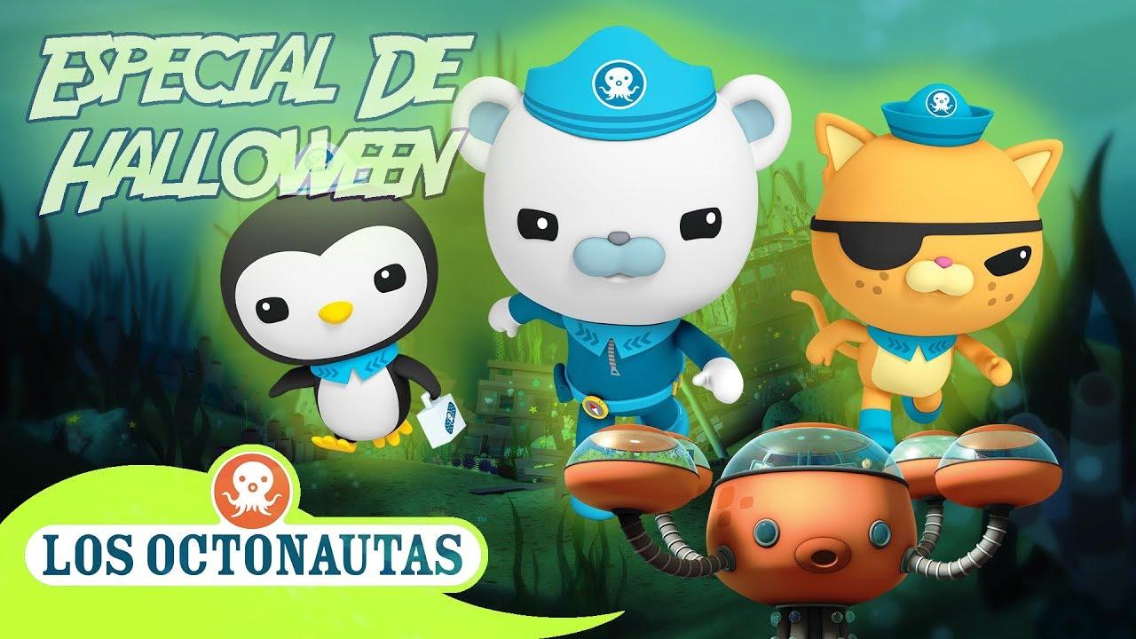 Los Octonautas Oficial en Español -  Las Criaturas Del Mar Viscosas | La Zona De Media Noche