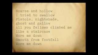 CocoRosie feat. Antony Hegarty - Tears For Animals (Lyrics)