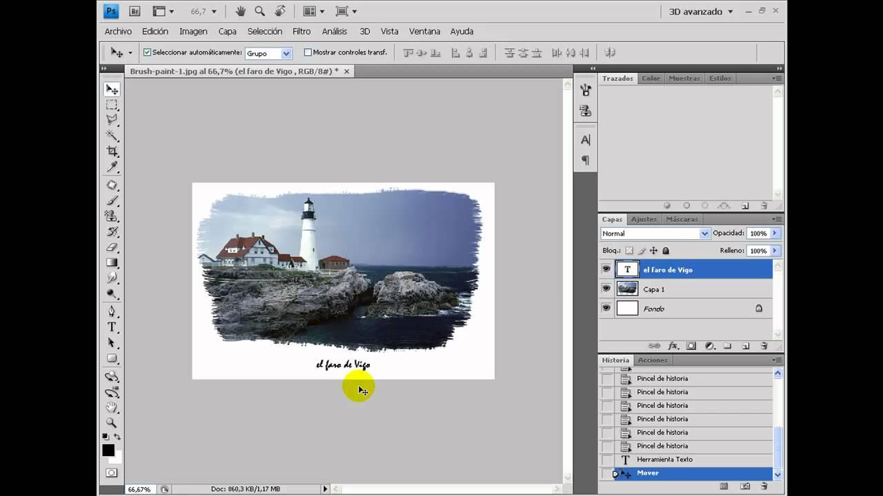 Contemporáneo Marcos De Edición En Photoshop Colección - Ideas de ...
