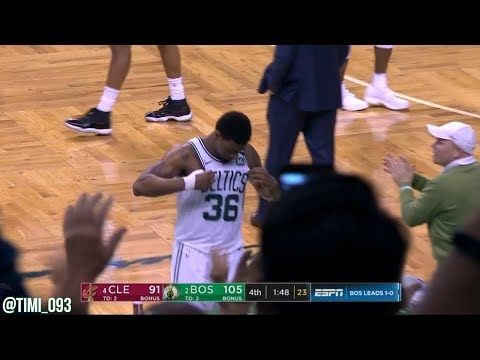 Marcus Smart R3G2 Highlights vs Cleveland Cavaliers (11 pts, 5 reb, 9 ast, 4 stl)