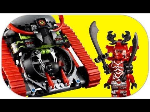 LEGO Garmatron 70504 LEGO Ninjago The Final Battle Review