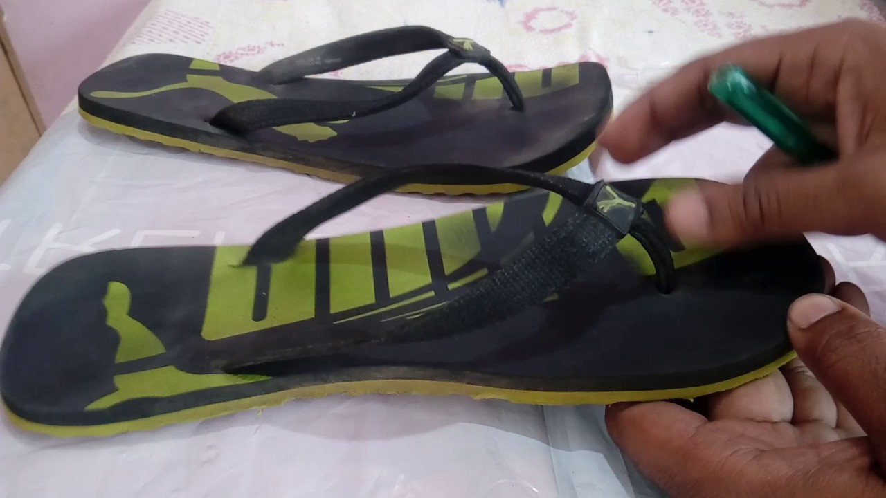 sports shoes 78be2 9e21d Repairing strap of slippers & flip flops