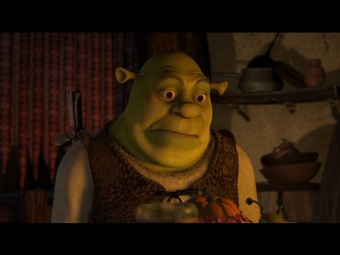 shrek 2001 eating alone scene 1080 youtube