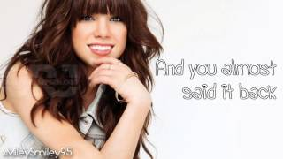 Carly Rae Jepsen - More Than A Memory (with lyrics)