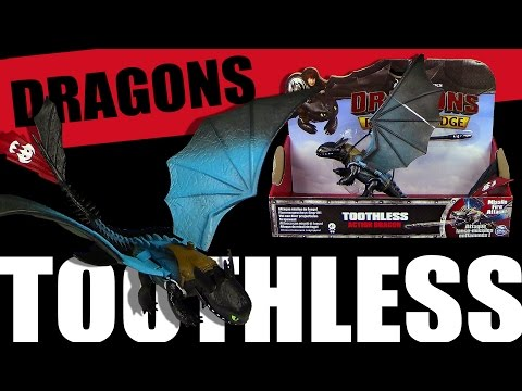 Dragons - Toothless - Missile Fire Attack -  Repainted Version - Unboxing & Review