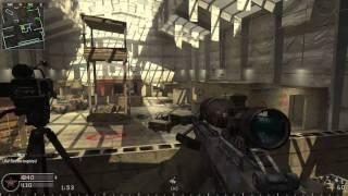 CoD4 Online gameplay Killhouse (PC)