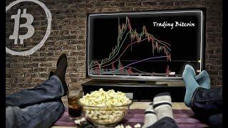 Trading Bitcoin - Huge $500 Range Swing in 10min - WTF