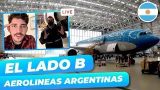 ACÁ GUARDAN los AVIONES ?   Recorremos el HANGAR de AEROLINEAS ARGENTINAS en CUARENTENA ?