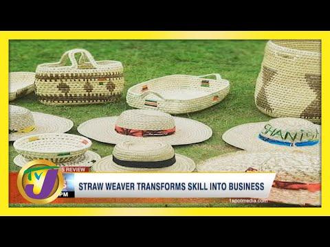 Straw Weaver Transforms Skill into Business   TVJ News