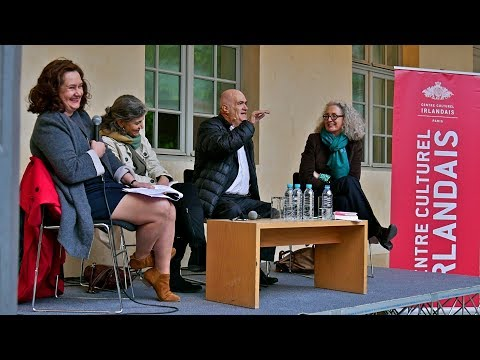 Colm Toibin at the Centre Culturel Irlandais May 2nd 2017