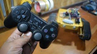 Controlando Arduíno com Joystick de Playstation 2!