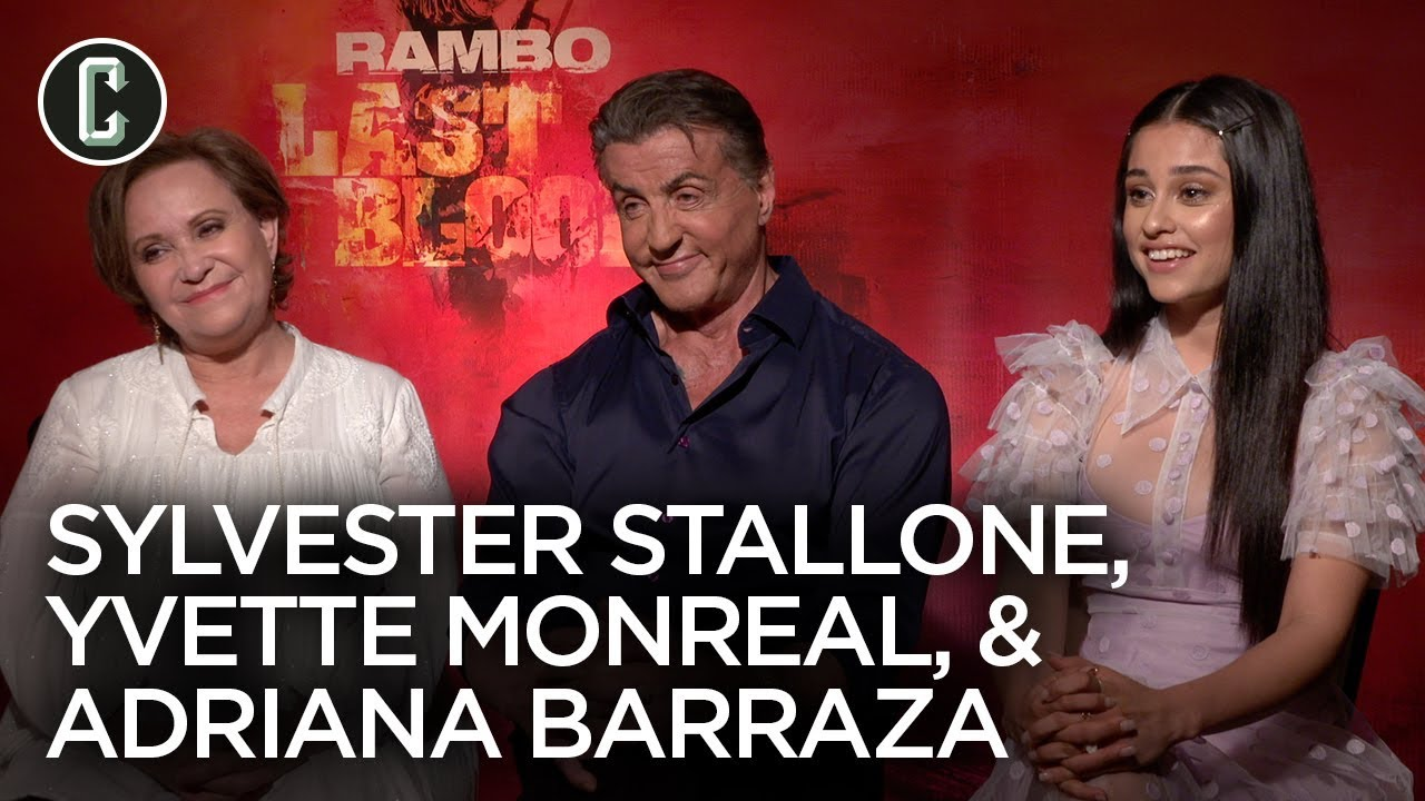 Download Rambo Last Blood Cast and Sylvester Stallone Interview