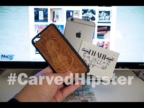 iPhone 6 Plus Case for the Modern Hipster - Art Nouveau by #Carved