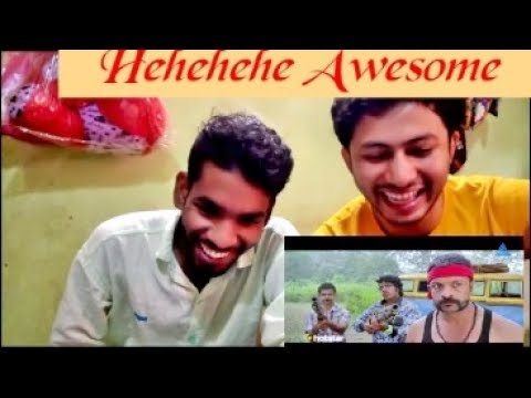 Aadu Comedy || Shaji Pappan Team VS Dudes Gang || Jayasurya || Reaction & Review || BY leJB ..