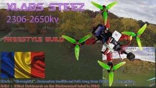 FPV Quadcopter Golf Course Ethnic Acro Session   DEATHRAT69 flies with pretty Fall colored leaves