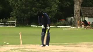RARE Video - Kevin Pietersen hitting SIXES blindfolded - .mp4