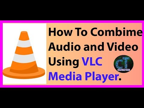 How To Merge Video And Audio Using VlC Media Player.
