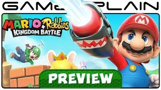 Mario + Rabbids: Kingdom Battle - Hands-On PREVIEW (Nintendo Switch)