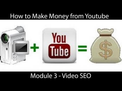 HOW TO MAKE MONEY ON YOUTUBE – VIDEO SEO
