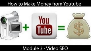 HOW TO MAKE MONEY ON YOUTUBE - VIDEO SEO(http://videoprofitspro.com/WSO Get my ebook on how to make money with YouTube ▻http://videoprofitspro.com How to make money from youtube videos How ..., 2013-05-17T07:46:49.000Z)