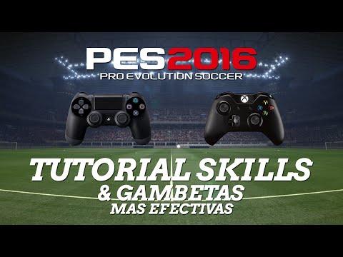 PES2016 | TUTORIAL REGATES - TUTORIAL SKILLS - SKILLS & TRICKS [PS4 - XBOX ONE]