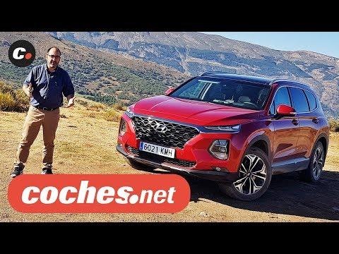 Hyundai Santa Fe 2019 SUV | Primera prueba / Test / Review en español | coches.net