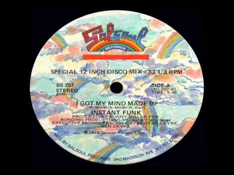 Instant Funk - Got My Mind Made Up 1978 disco version