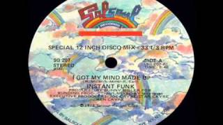 Instant Funk - Got My Mind Made Up 1978 disco version