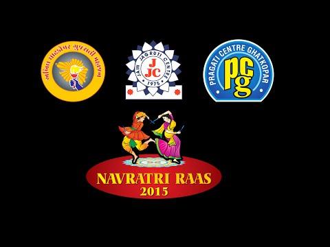 Ghatkopar Navratri Raas 2015 - Day 9 | Naitik Nagda | Shriram Iyer