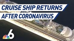 MSC Cruise Ship Returns to Miami Port After Coronavirus Fears | NBC 6