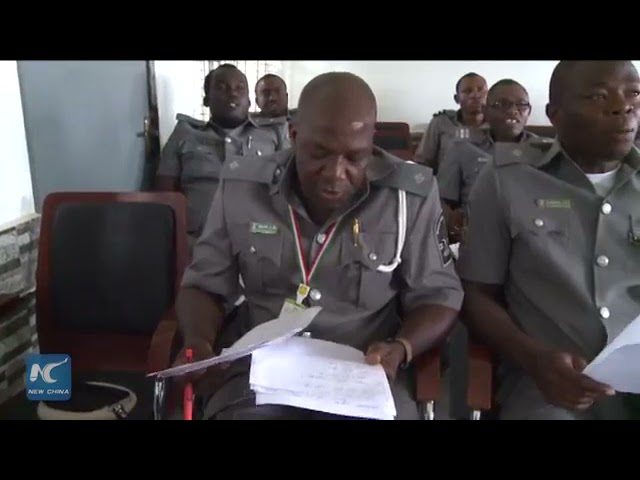 Nigerian Customs learn Chinese in new Video