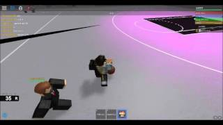 1v1 basketball Game(I GOT RKT)part 1| Roblox
