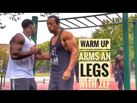 Get Your Blood Flowing Warm Up | Street Workouts | with Zef